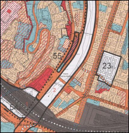 L'area di trasformazione del centro di Genova
